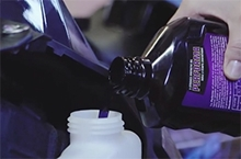 Picture of 2-stroke snowmobile oil for ARTIC CAT